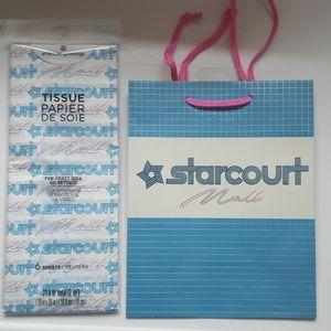 Stranger Things Netflix bag and tissue paper